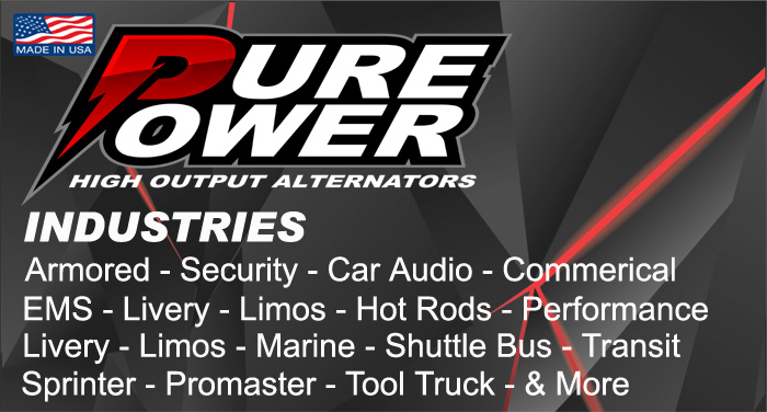 Pure Power Alternators