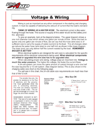Voltage & Wiring explanation